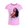 Tee shirt manches courtes Vaiana rose
