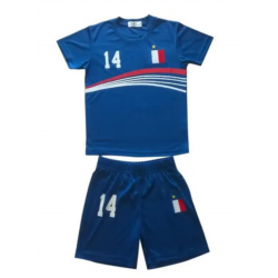 Ensemble short et maillot de foot France 2 étoiles enfant News