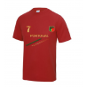 Maillot de foot Portugal enfant rouge