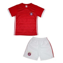 Ensemble de sport maillot et short Munich rouge enfant