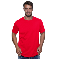 Tee shirt Homme JHK rouge 100% Coton