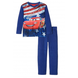 Pyjama polaire Cars Disney Lightning Bleu