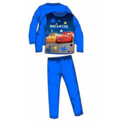 Pyjama polaire Cars disney bleu royal
