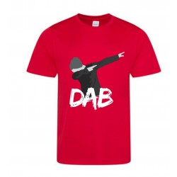 Maillot - Tee shirt manches courtes enfant DAB rouge
